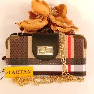 Handbags - Tartan Plaid Wallet BT041